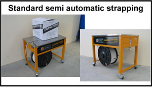 Strapping Systems Standard semi automatic strapping