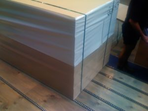MDF PET Strapping and wrapping timber MH-600 P329 Fromm New Zealand